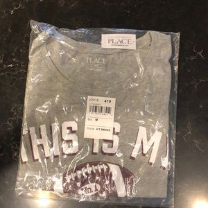 """Tops - NWT in package """"this is my game day shirt """""""